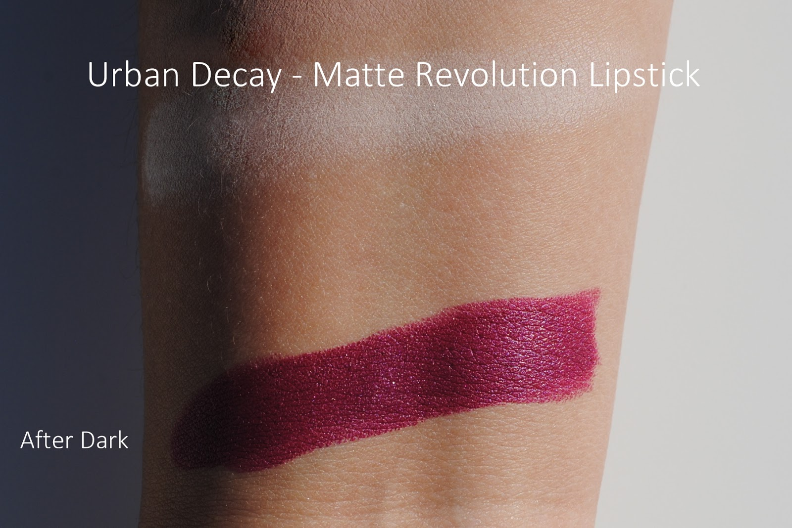 urban decay matte revolution lipstick review swatches