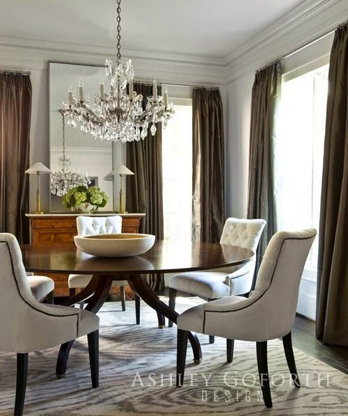 beautiful traditional dining room