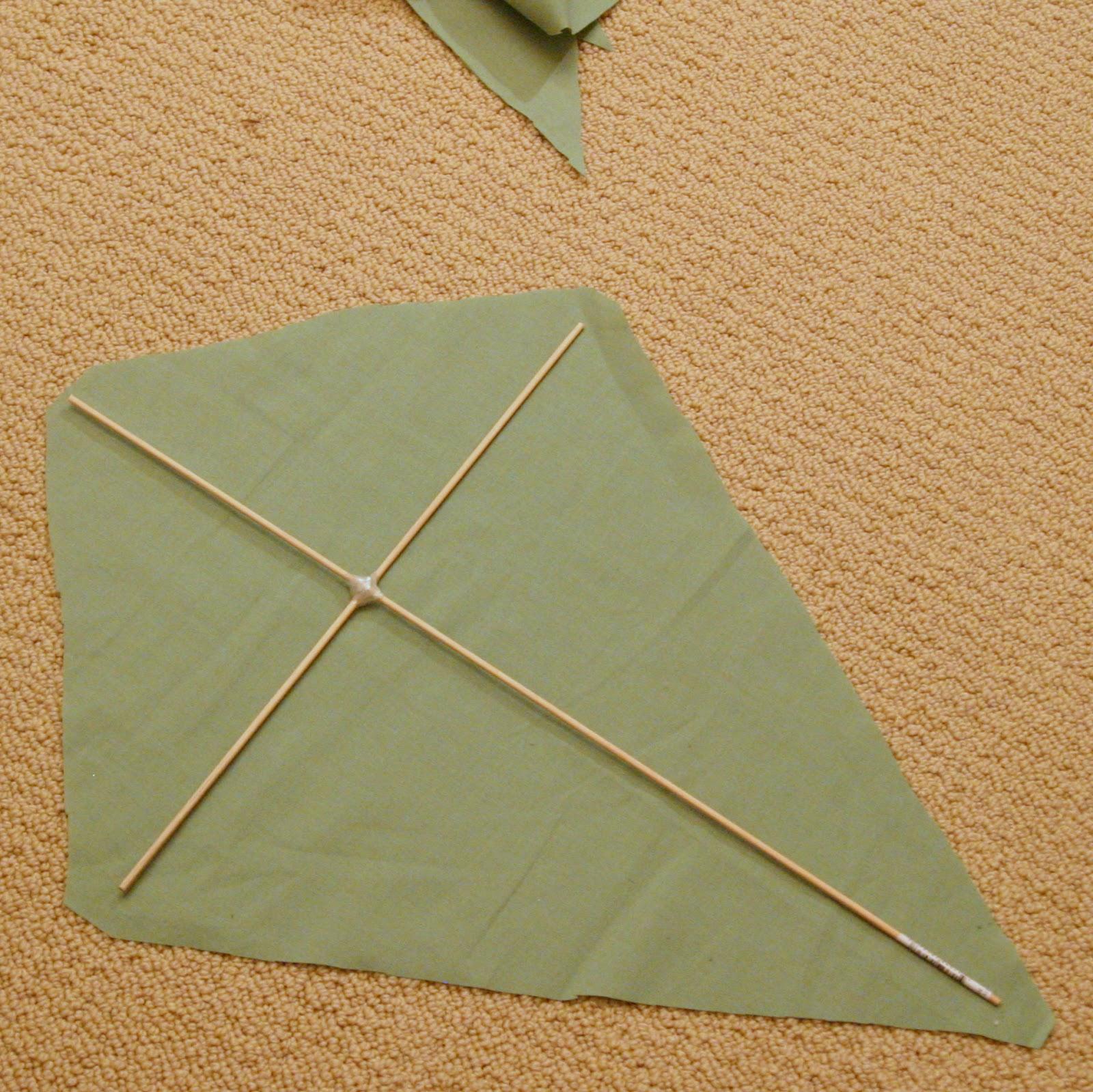 how to make a decorative kite