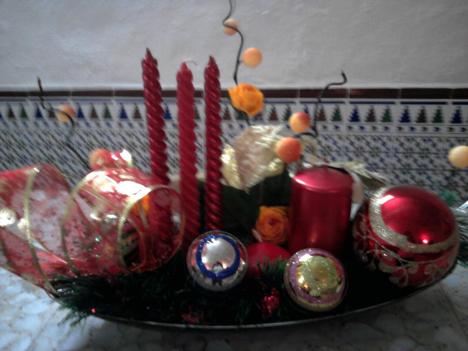 Con arte en las manos centros de mesa para navidad - Centros navidad manualidades ...