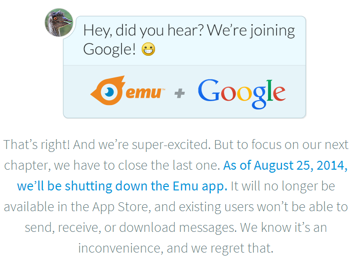 Google Acquires Texting And Virtual Assistant App Emu