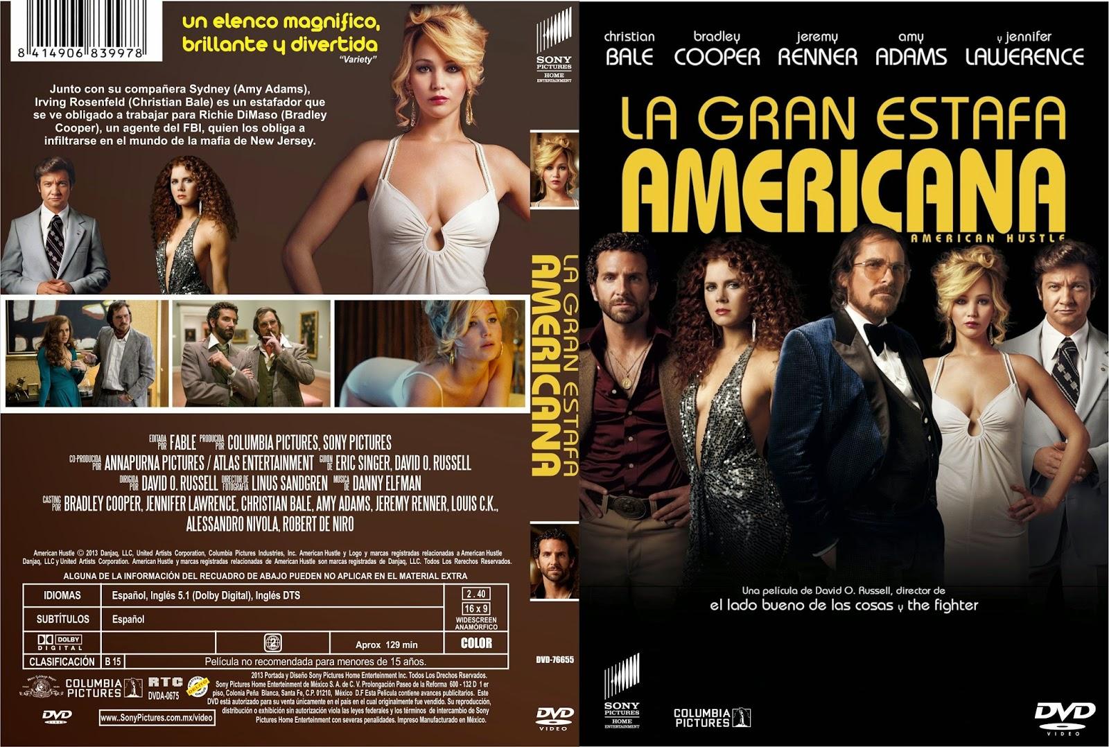 La Gran Estafa Americana DVD