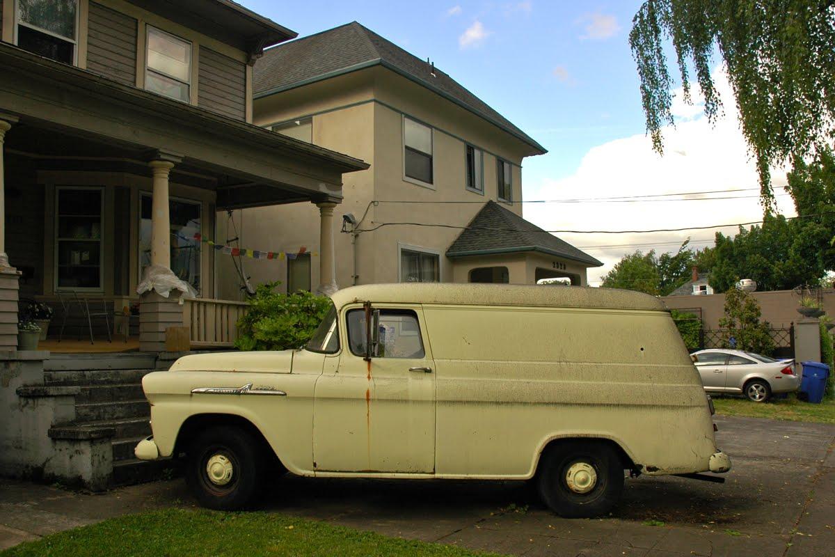 1958 Chevy Suburban.