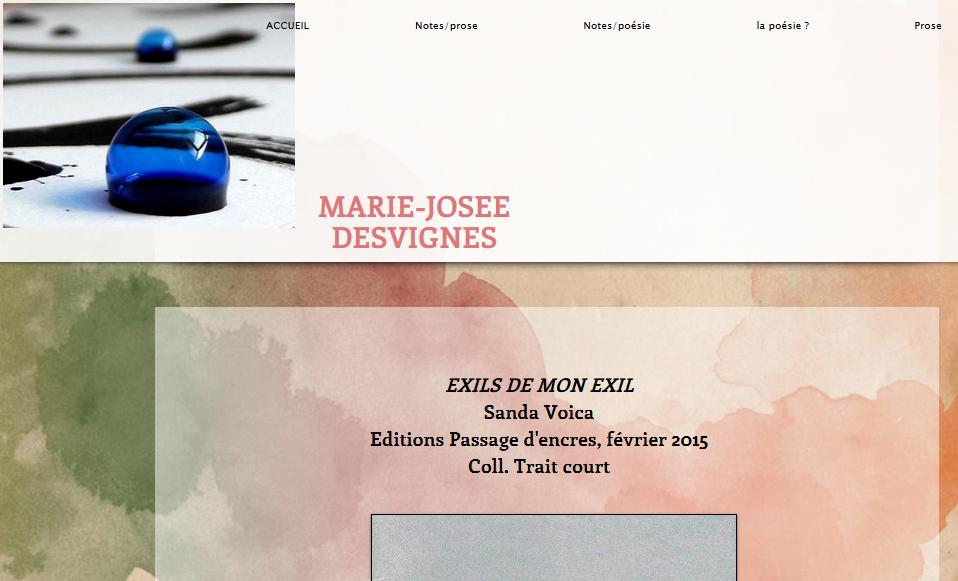 http://marie873.wix.com/autre-monde#!exils-de-mon-exil-sanda-voica/c13wv