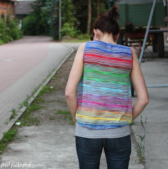 Ebby Schnittgeflüster Vokuhila fred fadenfroh Streifen stoffe.de