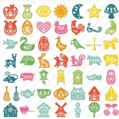Crafts Too Ltd. Cheery Lynn Die Cutting Stencils