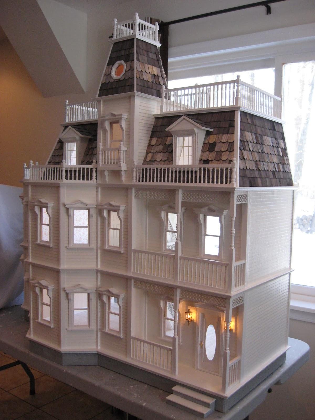 Little Darlings Dollhouses Customized Newport Dollhouse