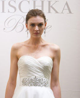 Badgley Mischka crystal bridal sash