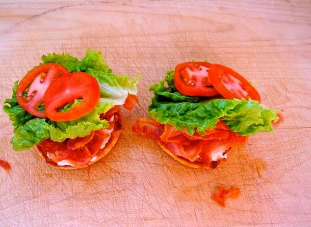 Ino's Pancetta, Lettuce, And Tomato Sandwich Recipe — Dishmaps
