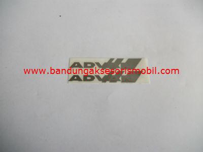 Emblem Alumunium 3M Kecil 2 Pcs Advan