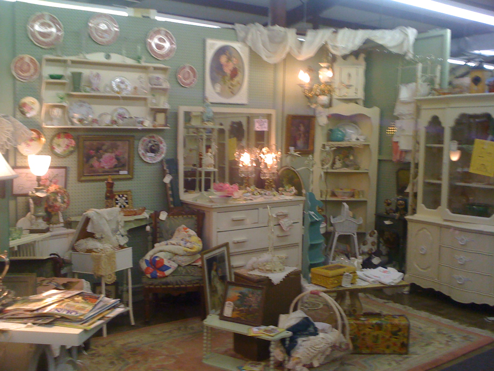 Antique Mall Booth Display Ideas Car Interior Design
