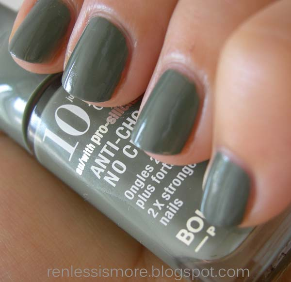 No Chip Nail Polish Reviews: Ren: Bourjois 10 Days Anti-Choc No Chips In Shade 23 REVIEW