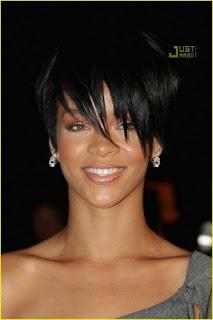 Rihanna Short Hairstyles