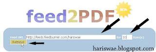 feed2pdf konversi rss feed ke pdf
