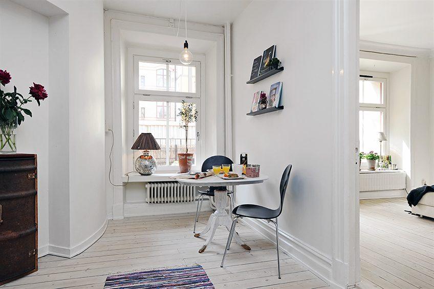 Boho deco chic un apartamento nordico con fondo en blanco for Small room 009 attention please