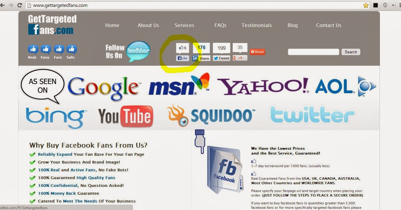 how to get the url for your facebook company page