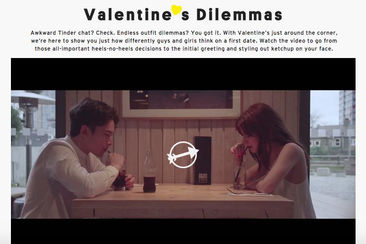 TopShop e i dilemmi di San Valentino!