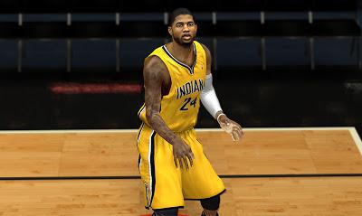 NBA 2K13 Paul George Realistic Face 2K Mod