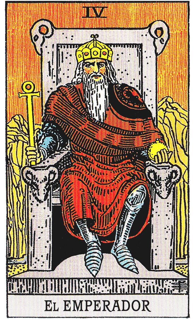 Significado arcano maior imperador waite