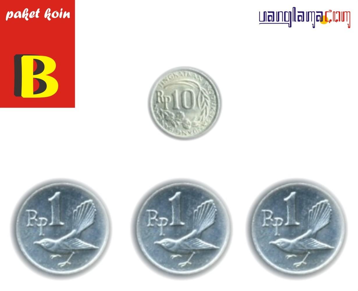 Paket Koin 13 Rupiah B
