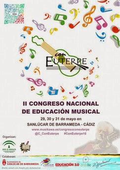 """II Congreso Nacional de Educación Musical """"Con Euterpe"""" tocapartituras.com"""