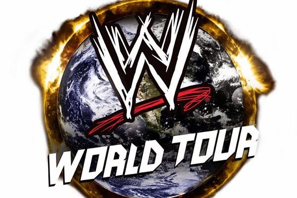 نتائج عرض اليوم من بلفاست بأيرلندا الشمالية WWE+World+Tour