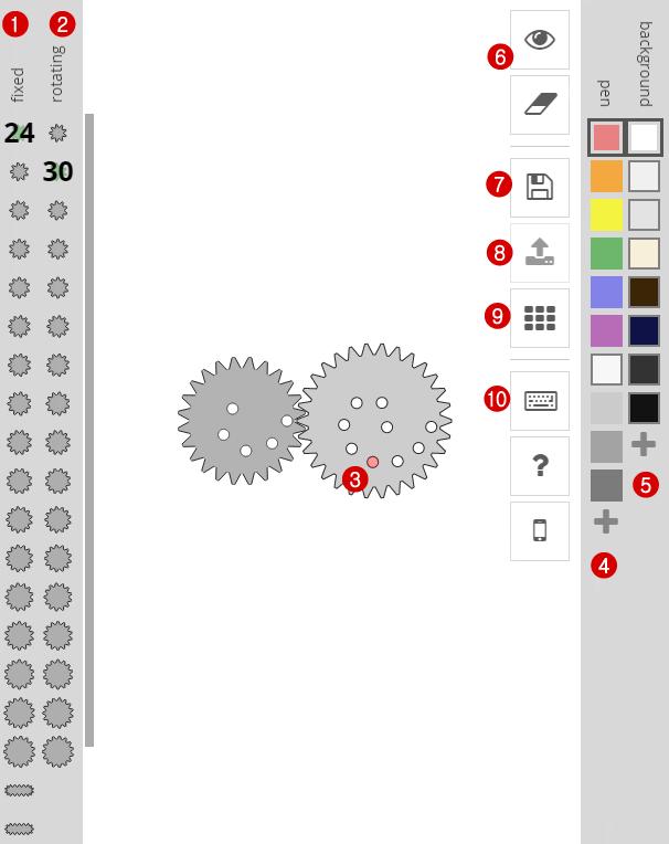 Spirographe en ligne : l'outil