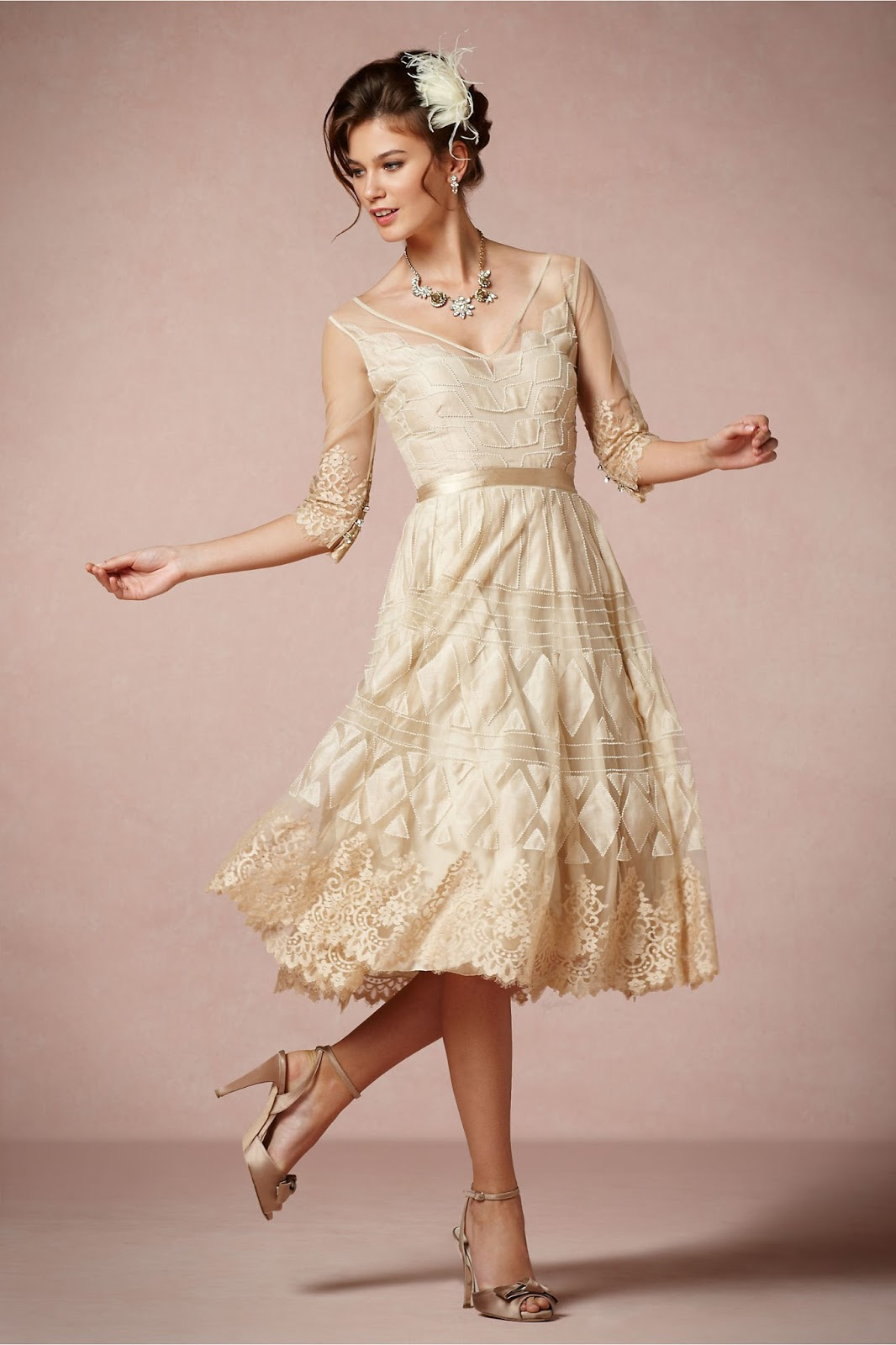 1950s wedding dresses 1950s dress style for Wedding dresses 1950s style