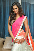 Shubra Aiyappa glamorous in half saree-thumbnail-19