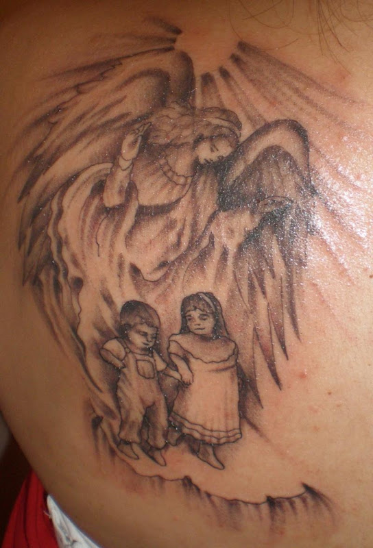 Devil Wings Tattoos title=