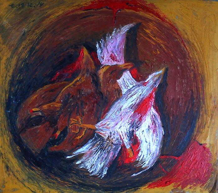 La muerte de los gallos