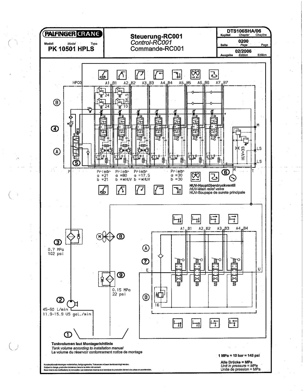 принципиальная схема крана кс5363б