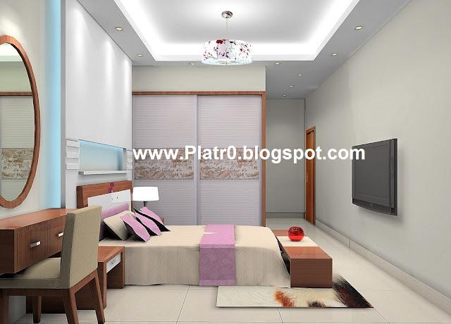 Dicor Placoplatre : Faux plafond de chambre a coucher décoration platre