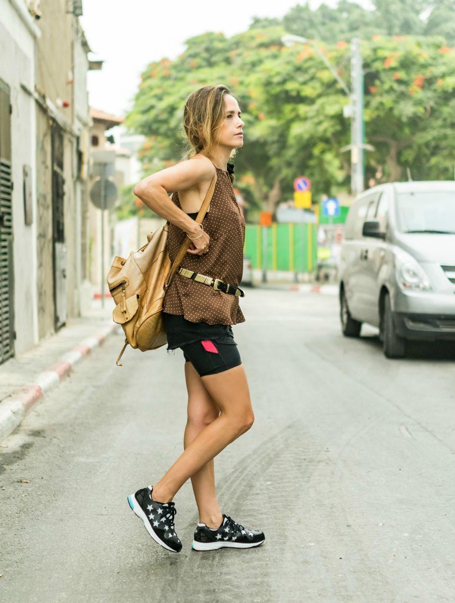 cami, denim2015, lookoftheday, chic, leggings, adidas, fashion, אופנה, בלוגאופנה, טייץ, ג'ינס