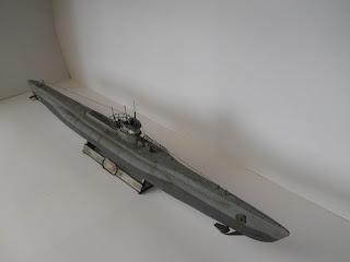 maqueta de la marca revell se submarino uboote VII D minenleger