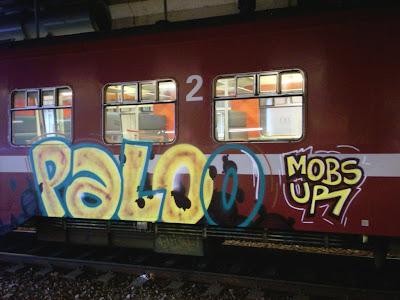 graffiti PALO MOBS UR