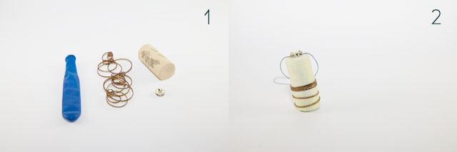 diy weihnachtskugeln basteln aus luftballonkorken diy. Black Bedroom Furniture Sets. Home Design Ideas