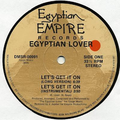 Egyptian Lover – Let's Get It On (1988, VLS, 256)
