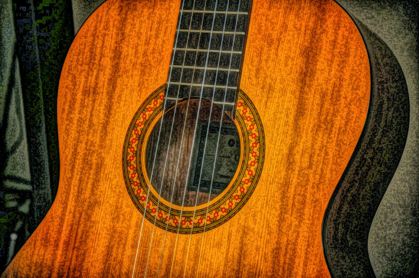 This guitar picture can be used for commercial purposes.