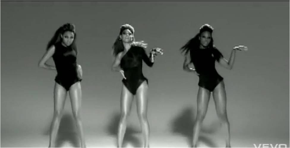 Beyonce single ladies girl