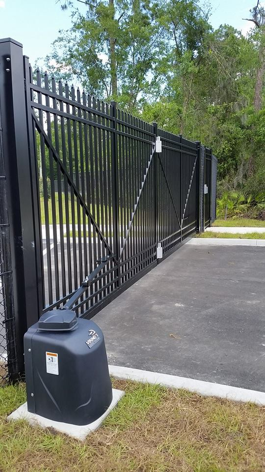 Viking access systems commercial gate openers