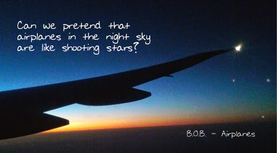 airplanes letra BOB haley shooting stars