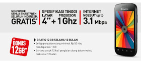 Specification Smartfren Andro