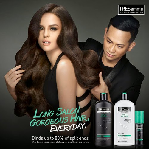 Georgina Wilson TRESemme Split Repair