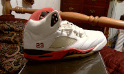 Fire red 5s. Posted by Retro Jordans at 9:46 PM