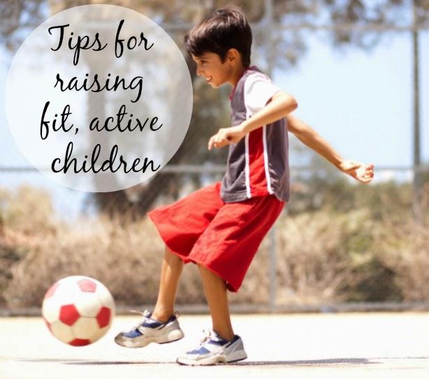 encouraging fit active children
