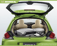 specification honda brio