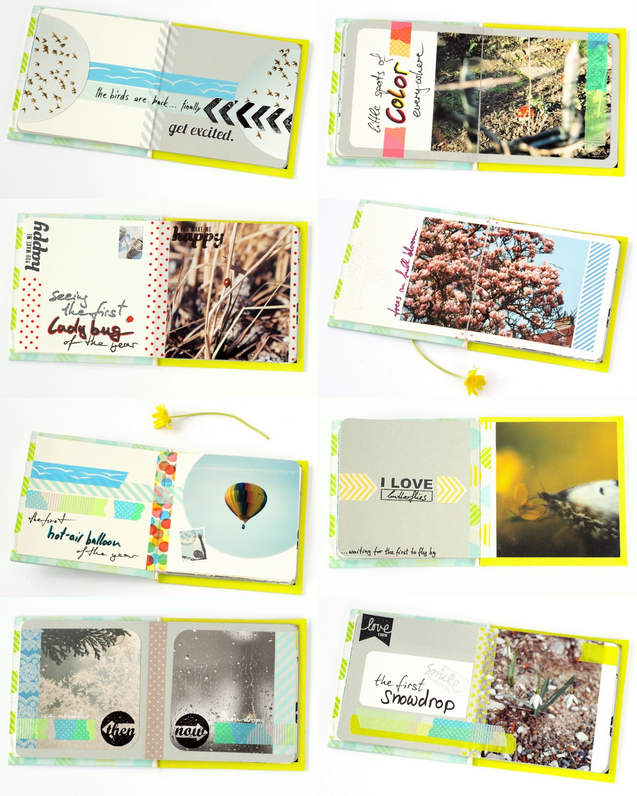 spring fling: minialbum 'i love spring' overview by momentstolivefor