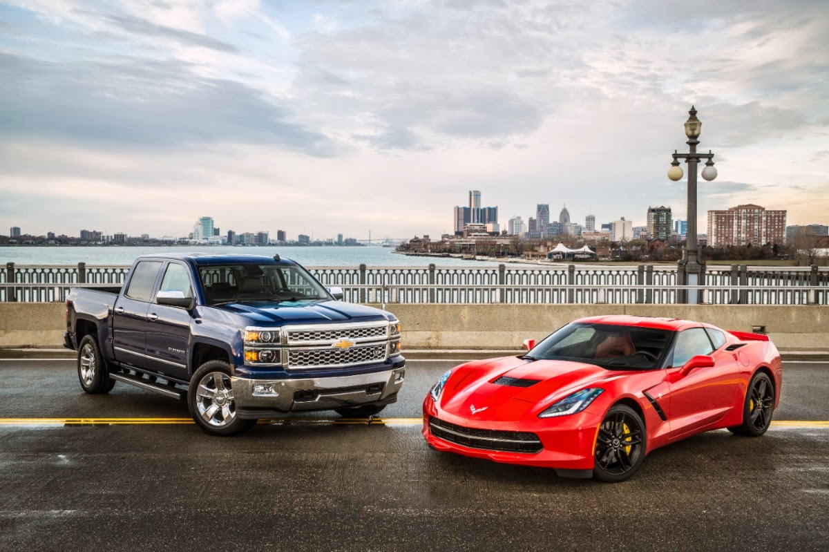 Three GM Vehicles Nominated For 2014 North American Car and Truck Of The Year