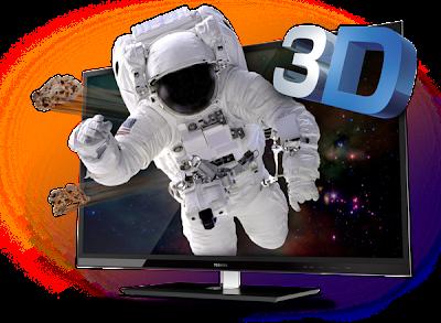 Dazzling Toshiba 3D TVs